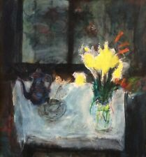 ARIE WACHENHAUSER (1917-1998), Oil On Canvas, Still Life with Flowers , Signed