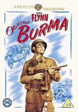 Objective Burma [1945] [DVD] New Sealed UK Region 2 - Errol Flynn