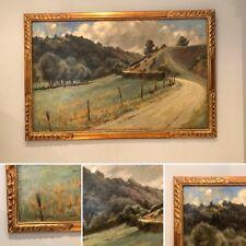 peinture de plein air paysages région Comblain La Tour - L Lejeune . XX siècle .