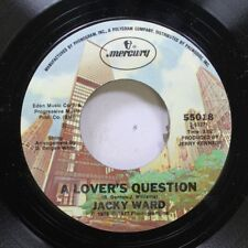 Pop Nm! 45 Jacky Ward - A Lover'S Question / She Belongs To Me On Mercury