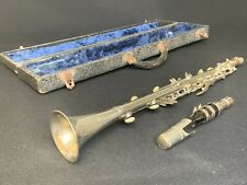 VINTAGE RENE DUVAL Unibody Metal CLARINET - Made in Italy