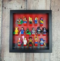 Display Frame for LEGO DC Minifigure Series | DC Minigfig Display Case