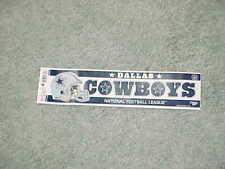 1990s Dallas Cowboys Football Helmet Bumper Sticker