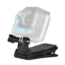 Backpack Clip Clamp Mount For Go Pro 6/5/4 Xiaomi Yi Lite 4K+Action Camera N6E8