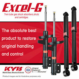 4 Front + Rear KYB Excel-G Strut Shock Absorbers for Jeep Compass MK Patriot MK