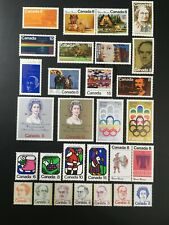 Canada Stamp - Complete Set of 1973 Issues