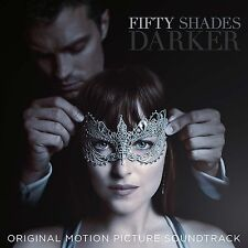 FIFTY SHADES DARKER MOTION PICTURE SOUNDTRACK CD (New Release February 2017)
