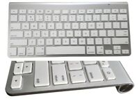 Bitzeasi® Bluetooth Wireless Keyboard Mac Apple iPad iMac iPhone IOS Tablet UK