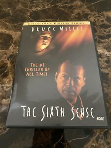 The Sixth Sense (DVD, 2000, Collectors Series) Like new!