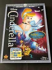 WALT DISNEY - CINDERELLA  ( BLU RAY + DVD) DIAMOND EDITION