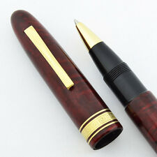 Omas Vespucci Rollerball Pen - Reddish Briarwood (New Old Stock, Never Used)