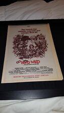 Hog Wild Rare Original Box Office Pre-Release Promo Poster Ad Framed!
