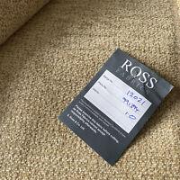 Ross Fabrics Portobello Boucle Champagne SR12021 Upholstery Fabric 104x146cm