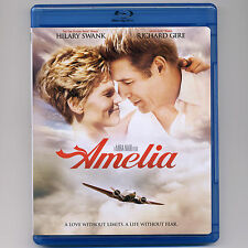 Amelia (Earhart) 2009 PG biographical drama movie, new Blu-ray Hilary Swank Gere