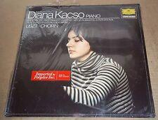 Diana Kacso LISZT Sonata CHOPIN Polonaise-Fantaisie, Etude - DG 2535 008 SEALED