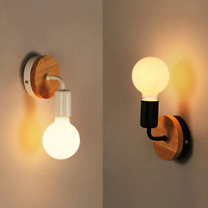 2 x Modern Vintage Retro Wall Lights Industrial Lighting Sconce Porch Light E27