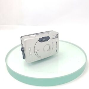 Canon IXUS M1 Compact Film 35mm auto Camera - Silver, TESTED +++#868