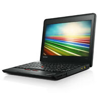 Refurbished Laptop Black Lenovo X131e Chromebook Dual Core WiFi Chrome OS HDMI