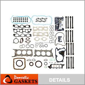 Full Gasket Set Head Bolts Fits 09-11 Kia Borrego Hyundai Genesis 3.8L