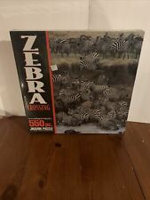 According To Hoyle 550 Piece Puzzle - Zebra Crossing Jigsaw Puzzle - Sealed