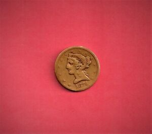 ***  SUPER  RARE 1874 $5.00 GOLD ONLY 3500 MINTED RARE   ***