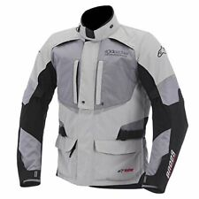 Alpinestars Andes Motorbike Motorcycle Waterproof Jacket Mens Black XXXXL 4XL