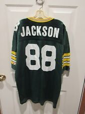 VINTAGE 90's KEITH JACKSON GREEN BAY PACKERS jersey Champion men's size 52 NFL