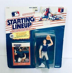 GARY CARTER NEW YORK METS 1988 STARTING LINEUP - NEW - UNOPENED - MLB - KENNER