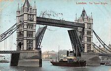 BR80504 london the tower bridge ship bateaux   uk