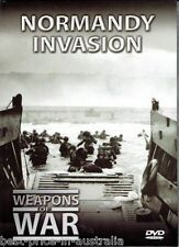 WEAPONS OF WAR - Normandy Invasion DVD +  BOOK WORLD WAR TWO WWII BRAND NEW R0