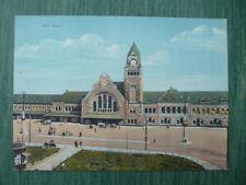 METZ - Carte postale colorisée MANIAS avant 1918 ? - Banhof (gare de Metz)