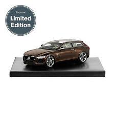 wonderful modelcar VOLVO CONCEPT ESTATE RESIN GENEVE 2014 - brown metallic -1/43