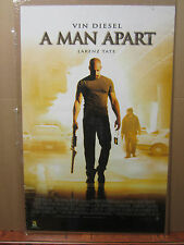 Vintage A man Apart Vin Diesel movie poster 1200