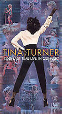 2001 Tina Turner - One Last Time: Live in Concert VHS