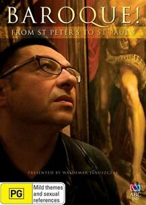 Baroque! From St Peter's To St Paul's ABC DVD NEW SEALED REGION 4
