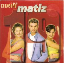 MATIZ - negentien CDS!! eurodance 1999 EUROVISION RARE!