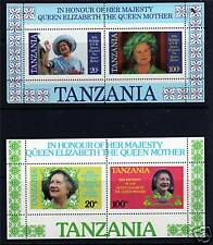Tanzania 1985 Life & Times Queen Mother MS429 MNH