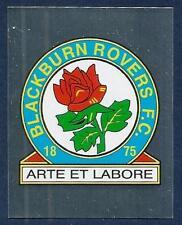 MERLIN-2007-F.A.PREMIER LEAGUE 07- #053-BLACKBURN ROVERS TEAM BADGE-SILVER FOIL