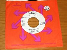 """PROMO POP GROUP 45 RPM - THE FOUR GUYS - MERCURY 73013 - """"WHEN I FALL IN LOVE"""""""