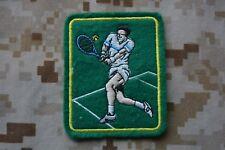 Y13 écusson insigne patch badge Tennisman Tennis sport de raquette