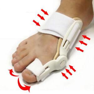 Bunion Corrector Hammer Toe Straightener Splint  Brace Hallux Valgus Aligner