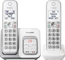 Panasonic Kx-tgd532w Expandable Cordless Phone Call Block Answering Machine