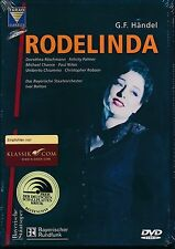 Handel Rodelinda Regina de' Longobardi DVD NEW Korothea Roschmann DTS Surround