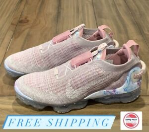 Nike Air Vapormax 2020 Flyknit Arctic Pink Womens Shoes Sz 10.5 CT1933-500 NOLID