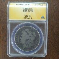 1895 o Silver Morgan dollar VG.8 Beautiful coin