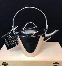 Stainless Steel Hotel Black Label 1 Litre Teapot