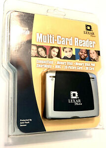 Lexar Multi-Card Reader USB with USB cable SEALED