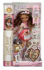Ever After High Doll, Sugar Coated Cedar Wood Doll, African American, New/Sealed