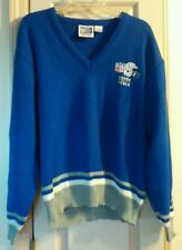 Vintage Indianapolis Colts Starter Knit Coach's Sweater Mens Size Large