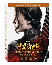 The Hunger Games: Complete 4 Film Collection DVD Boxed Set NEW!